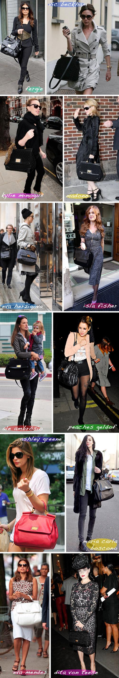 ab80732b408 Dentre as celebs que andam carregando a sua Miss Sicily por aí estão  Fergie