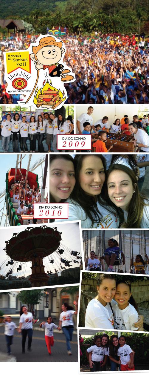 53a87c37e6 Serão cerca de 900 crianças de várias comunidades carentes do Rio de  Janeiro e 700 voluntários cheios de vontade e felicidade para compartilhar.